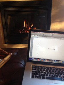 Writing before the fire