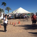 Welcome Tent at 1Mission just outside Rocky Point Mexico